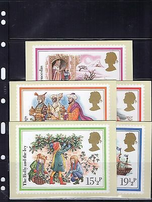 1982 Christmas - Mint Phq Set From Collection P/08