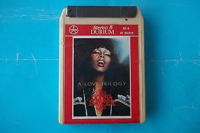 "Donna Summer "" A Love Trilogy"" Mc Stereo 8 Durium Ai 50.012 Sigillata"