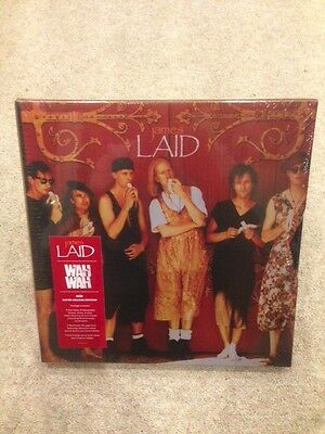 JAMES - LAID & WAH WAH 4CD Super Deluxe Box Set 602547087126  brand new & sealed