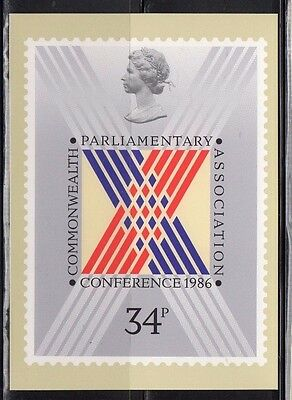 1986 Commonwealth Parliamentary Assoc. Conf.  - Mint Phq From Collection P/11