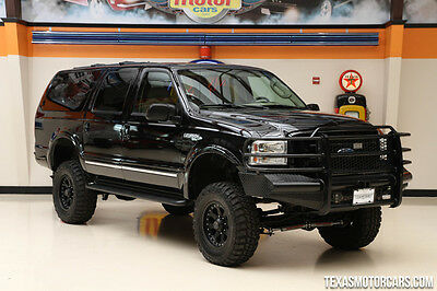 2005 Ford Excursion Limited Sport Utility 4-Door 2005 Black Limited!