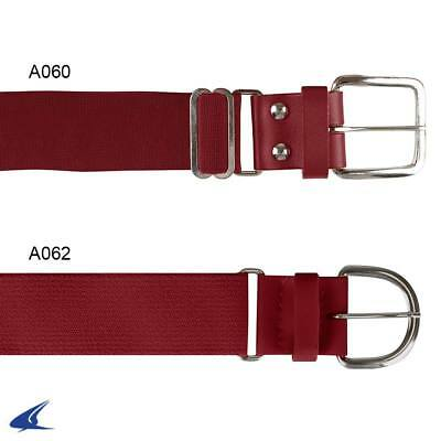 """Baseball Belts Youth 1-1/4"""" Synthetic Tab All Colors"""