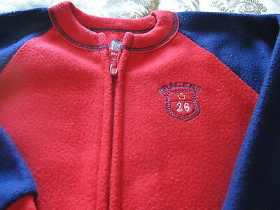 New Without Tags Boys 3T Gerber Red/Navy Blanket Sleeper