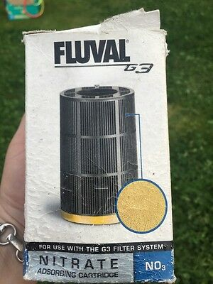 New Fluval G3 Nitrate Absorbing Cartridge