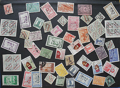 Morocco Old Stamps Lot Used 094