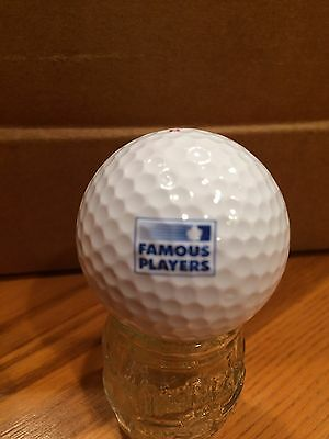 Famous Players Logo Golf Ball, Old Vintage