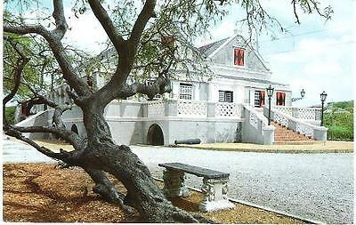 Willemstad, Curacao, Dutch W Indies - Curacao Museum - postcard c.1970s