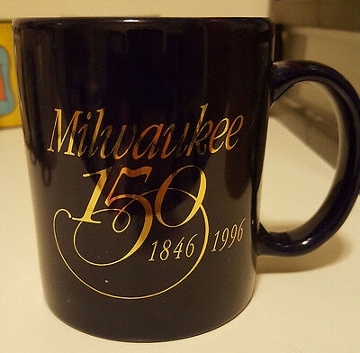 Commemorative Coffee Mug from Milwaukee's 150th Birthday 1996