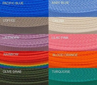 Bulk Discount - 10 metres of Polypro Webbing 25mm (1 inch)
