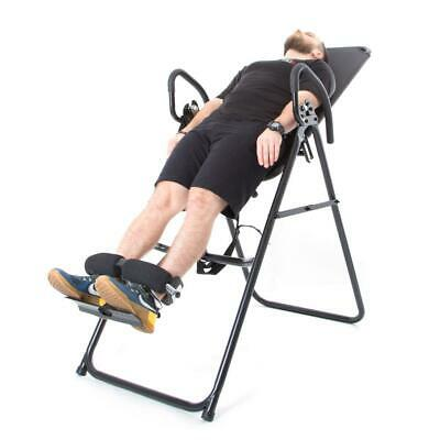 66fit Professional Inversion Table - Back Pain Relief Upside Down Stretching