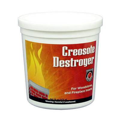 Powdered Creosote Destroyer 1 lb - Helps Prevent Stove & Fireplace Chimney Fires