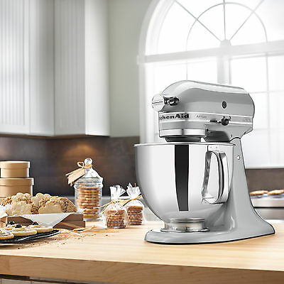 KitchenAid RRK150MC Metallic Chrome 5-quart Artisan Tilt-Head Stand Mixer (Refur