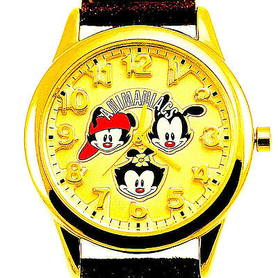 Animaniacs 3-D Look Numbe Dial Fossil Warner Bros Watch Collection Un-Worn! $179