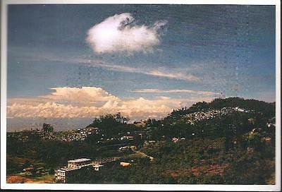 Kodaikanal, Tamil Nadu, India - City View - postcard c.1980s
