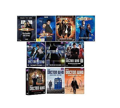NEW DOCTOR WHO 1-9 Complete Series DVD 1-8 + 9 Set 1 2 3 4 5 6 7 8 9