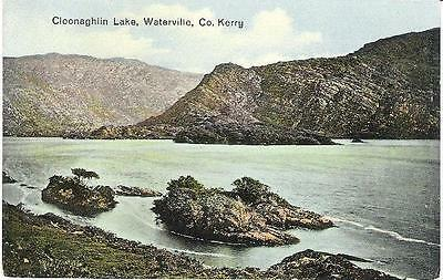 Waterville, Co. Kerry, Ireland - Cloonaghlin Lake - Lawrence postcard c.1920s