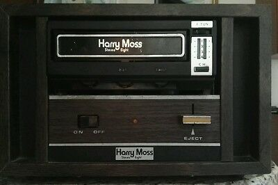 Lettore stereo 8 vintage Harry Moss anni 70 Rarissimo!!
