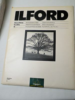 Ilford Multigrade IV FB Classic Glossy Variable Contrast Paper 11x14 10 Sh NEW