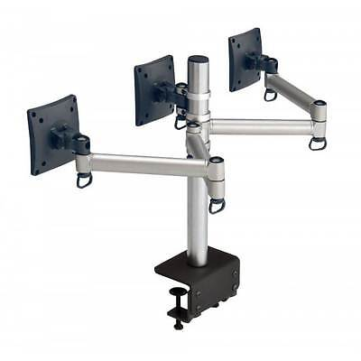"Laser AO-ARM3B LCD Arm Multiple Screen Rotatable 24"" - 3 Monitor Arms"