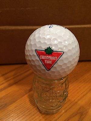 Canadian Tire Logo Golf Ball, Old Vintage