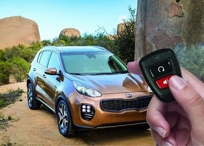 2017 Kia Sportage Remote Start Key Start D9F57 Ac500
