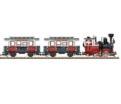Lgb G Scale Christmas Passenger Starter Set | Ships In 1 Business Day | 72304
