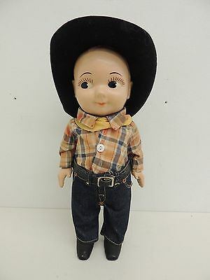 Vintage BUDDY LEE Doll LEE JEANS Cowboy Advertising Collectible 1950's