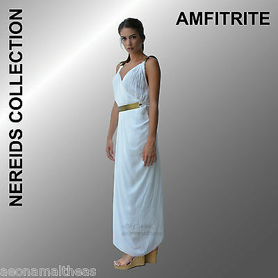 Nereids Collection - Amphitrite White Dress - One size (Small to Large)