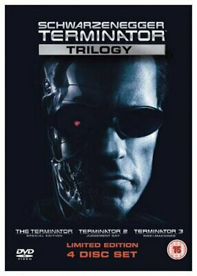 Terminator - The Trilogy (four disc edition) [DVD] - DVD  1IVG The Cheap Fast