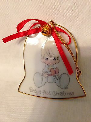 Precious Moments Baby's First Christmas Ornament (No Date)