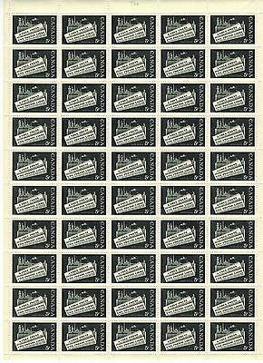 Canada Stamp #375 Field Stock Sheet 50 stamps MNH Free Press