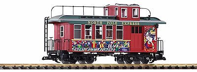 Piko G Scale Christmas Drover's Caboose | Ships In 1 Business Day | 38642