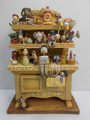 Disney Wdcc Pinocchio's Geppetto's Toy Creations