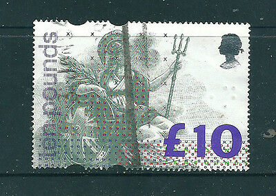 Stamps GB - 10 Pounds - 1993