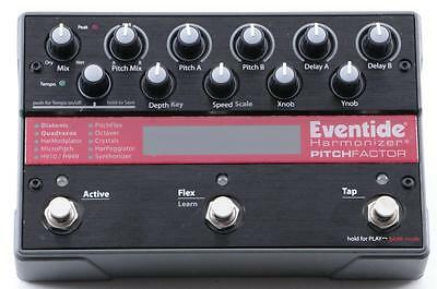 Eventide Pitchfactor Harmonizer Pitch Factor Guitar Effects Pedal PD-2717