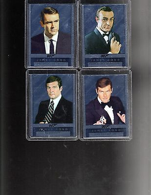 2016 James Bond Archives Spectre Edition  Double Sided Mirror complete set of 8