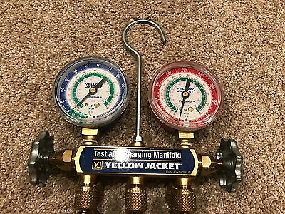 Yellow Jacket Manifold Gauges (R12 R22 R502) USED
