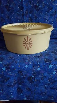 Vintage Servalier Yellow Tupperware Stackable Container; USA