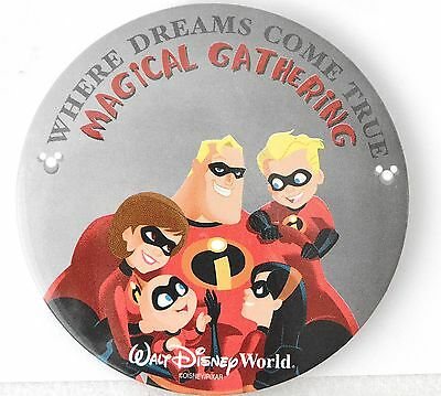 Disney Pin #51387 WDW Where Dreams Come True Magical Gathering Incredibles