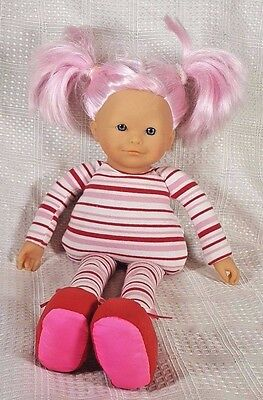 """Corolle Les Dollies Doll with Pink Hair Marshmallow 16"""""""