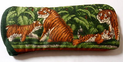 BN  TIGERS - cotton GLASSES CASE ideal small gift