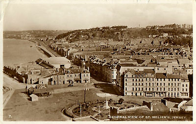 General View of St.Helier,Jersey,Finsbury Hotel c1960s(B.BNo.7.-Real Photograph)