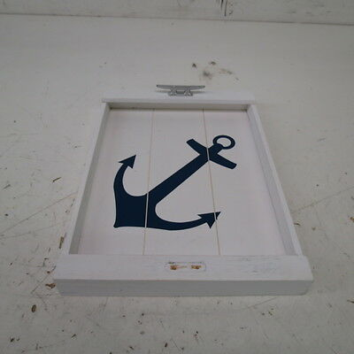 DEI Wood Anchor Tray with Cleat Handles
