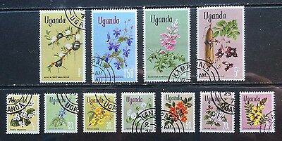 UGANDA - Flowers - VFU (except for a couple of creases)