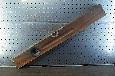 Antique Stanley Sweet Heart Level Woodworking Carpenters Old Tools