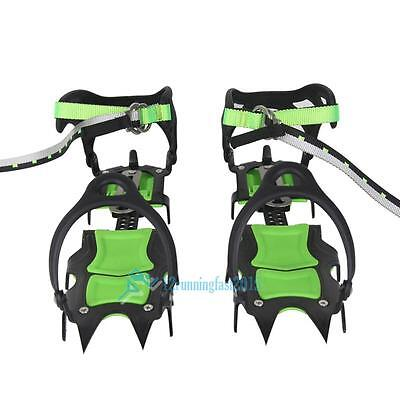 Snow Ice Grips Treads Over Shoe Boots Cleats Anti Slip Spikes Safety Grippers UK
