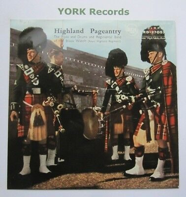 BAND OF THE BLACK WATCH - Highland Pageantry - Ex Con LP Record RCA RD 27053