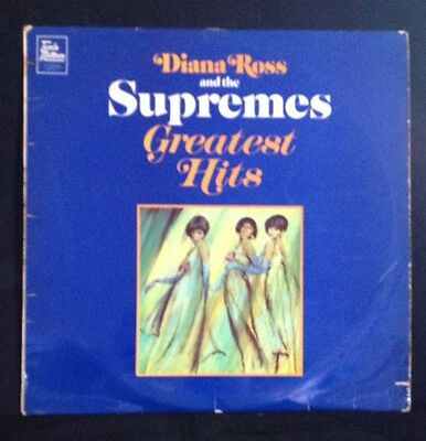 Diana Ross & The Supremes Greatest Hits Vinyl LP