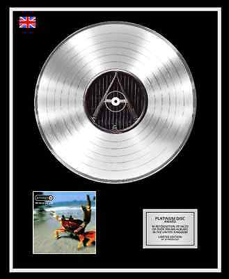 THE PRODIGY Ltd Edition CD Platinum Disc Record THE FAT OF THE LAND