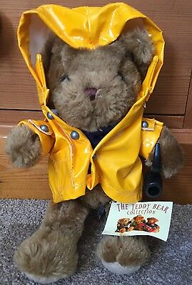 """Collectable The Teddy Bear Collection No.6 """"Fergus The Fisherman soft toy"""
